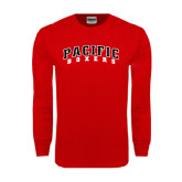 Red Long Sleeve T Shirt-Arched Pacific Boxers