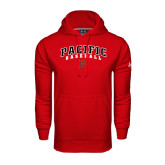 Under Armour Red Performance Sweats Team Hoodie-Baseball