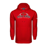 Under Armour Red Performance Sweats Team Hoodie-Pacific Boxers Arched Football