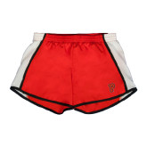 Ladies Red/White Team Short-P