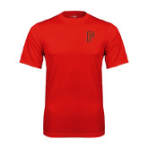 Performance Red Tee-P