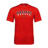 Performance Red Tee-Arched Pacific Boxers w/P