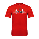 Performance Red Tee-Pacific Boxers Arched Football