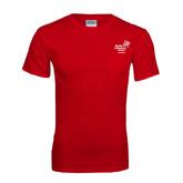 Red T Shirt w/Pocket-Pacific University Oregon w/Boxer