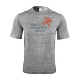 Performance Grey Heather Contender Tee-Pacific University Oregon w/Boxer