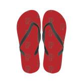 Ladies Full Color Flip Flops-P