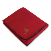 Red Arctic Fleece Blanket-P