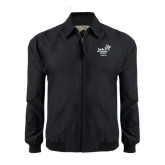 Black Players Jacket-Pacific University Oregon w/Boxer