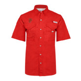 Columbia Bonehead Red Short Sleeve Shirt-P