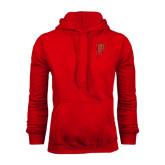 Red Fleece Hoodie-P