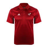 Adidas Climalite Red Jaquard Select Polo-Pacific University Oregon w/Boxer