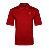 Red Performance Fine Jacquard Polo-P