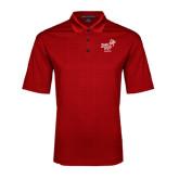Red Performance Fine Jacquard Polo-Pacific University Oregon w/Boxer