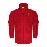 Columbia Full Zip Red Fleece Jacket-P