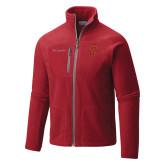 Columbia Full Zip Red Fleece Jacket-P