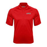 Red Textured Saddle Shoulder Polo-Arched Pacific Boxers