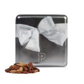 Deluxe Nut Medley Silver Medium Tin-P Engraved
