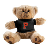 Plush Big Paw 8 1/2 inch Brown Bear w/Black Shirt-P