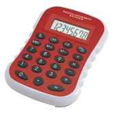 Red Large Calculator-Flat White Pacific Boxers