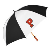 62 Inch Black/White Umbrella-P