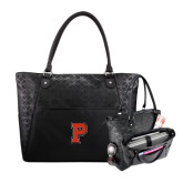 Sophia Checkpoint Friendly Black Compu Tote-P