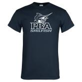Navy T Shirt-PBA Sailfish Stacked