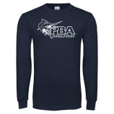 Navy Long Sleeve T Shirt-Primary Mark