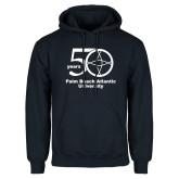 Navy Fleece Hoodie-50 years