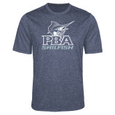 Performance Navy Heather Contender Tee-PBA Sailfish Stacked