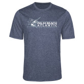 Performance Navy Heather Contender Tee-Palm Beach Atlantic University