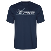 Performance Navy Tee-Palm Beach Atlantic University