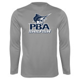 Performance Steel Longsleeve Shirt-PBA Sailfish Stacked