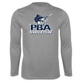 Syntrel Performance Steel Longsleeve Shirt-PBA Sailfish Stacked