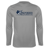 Performance Steel Longsleeve Shirt-Palm Beach Atlantic University