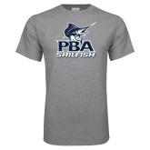 Sport Grey T Shirt-PBA Sailfish Stacked