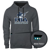Contemporary Sofspun Charcoal Heather Hoodie-PBA Sailfish Stacked