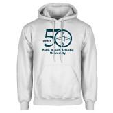 White Fleece Hoodie-50 years