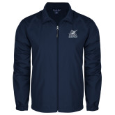 Full Zip Navy Wind Jacket-PBA Sailfish Stacked