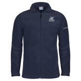 Columbia Full Zip Navy Fleece Jacket-PBA Sailfish Stacked