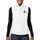 Columbia Mighty LITE Ladies White Vest-PBA Sailfish Stacked