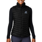 Columbia Mighty LITE Ladies Black Vest-PBA Sailfish Stacked