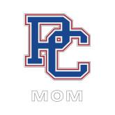 Presbyterian Mom Decal-Mom, 6 inches tall