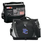 College Slope Black/Grey Compu Messenger Bag-PC