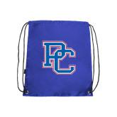 Nylon Royal Drawstring Backpack-PC