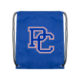 College Royal Drawstring Backpack-PC