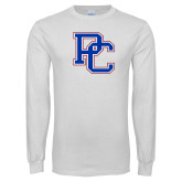 Presbyterian White Long Sleeve T Shirt-PC