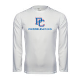 Syntrel Performance White Longsleeve Shirt-Cheerleading