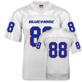 College Replica White Adult Football Jersey-#88