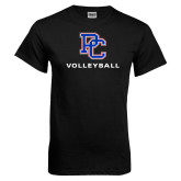 Presbyterian Black T Shirt-Volleyball