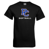 Presbyterian Black T Shirt-Softball